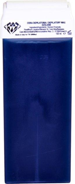 Воск для депиляции BRINail Blue Azulene в картридже 100 мл (2142393100221) - изображение 1