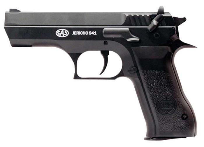 Пістолет пневматичний SAS Jericho 941 пластик - зображення 1