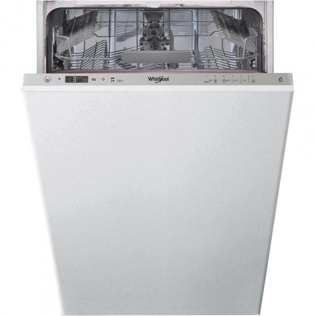 Вбудована посудомийна машина Whirlpool WSIC 3M17 - зображення 1