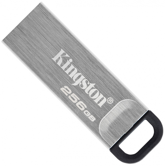 Kingston DataTraveler Kyson 256GB USB 3.2 Silver/Black (DTKN/256GB) - зображення 1
