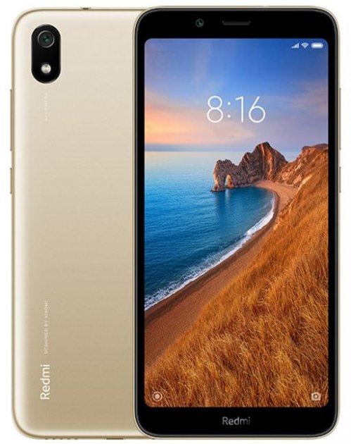 Мобильный телефон Xiaomi Redmi 7A 3/32GB Foggy Gold (Global ROM + OTA) - изображение 1