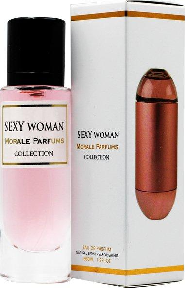 Парфюмированная вода для женщин Мораль Парфюм Sexy Woman версия Carolina Herrera 212 Sexy 30 мл (3733365740980) - изображение 1