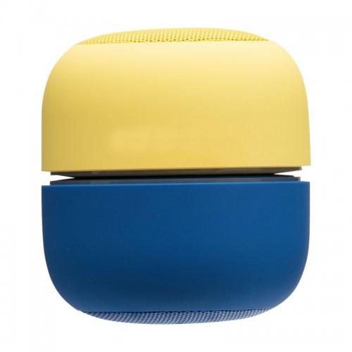 Портативная беспроводная колонка Proda PD-S200 (Жёлто-Синий) - изображение 1