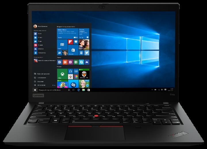 Ноутбук Lenovo ThinkPad T14s Gen 1 (20T0001YRT) Black - зображення 1