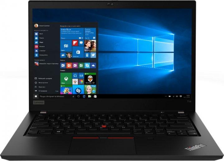 Ноутбук Lenovo ThinkPad T14 Gen 1 (20UD0010RT) Black - зображення 1