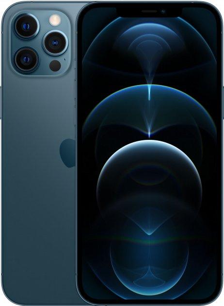 Мобільний телефон Apple iPhone 12 Pro Max 128 GB Pacific Blue Офіційна гарантія - зображення 1