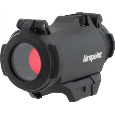 Оптичний приціл Aimpoint Micro H-2 2МОА. Blaser Saddle Mount QD (200187) - зображення 1