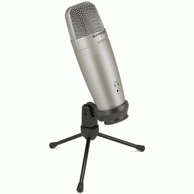 Мікрофон Samson C01U Pro з USB підключенням (429-1) - зображення 1