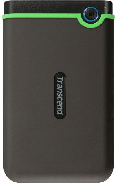 """Жорсткий диск Transcend StoreJet 25M3S 4 TB TS4TSJ25M3S 2.5"""" USB 3.1 Gen 1 External Iron Gray - зображення 1"""