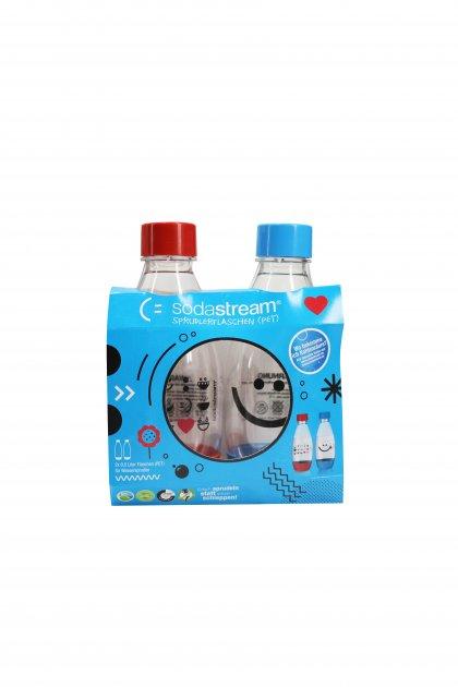 Пляшки для газованої води (3 шт.) SodaStream прозорий K10-550605 - зображення 1