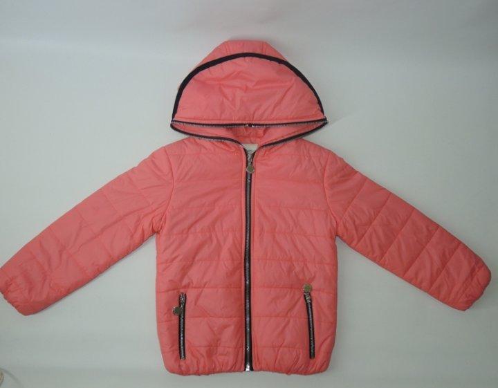 Демисезонная куртка Jing Pin 1228 134см(р) лососевый - изображение 1