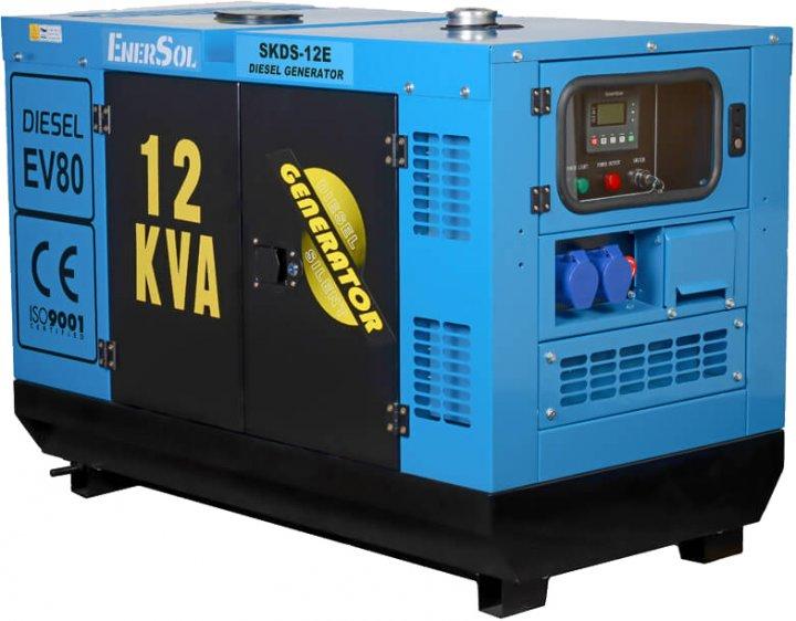 Генератор дизельний EnerSol SKDS-12EB - зображення 1