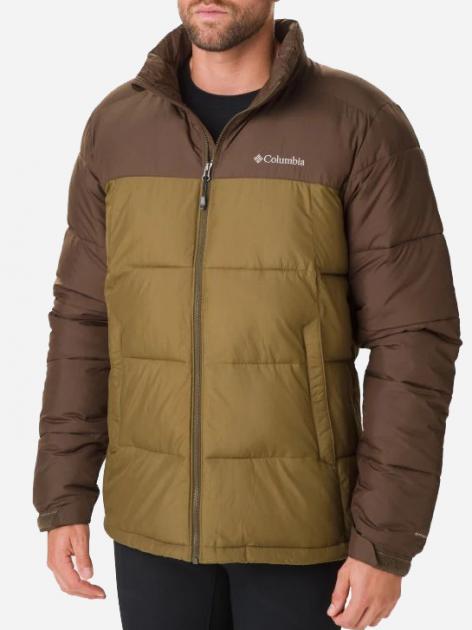 Куртка Columbia Pike Lake Jacket O0019334 S Зелено-черная (0192290905087) - изображение 1
