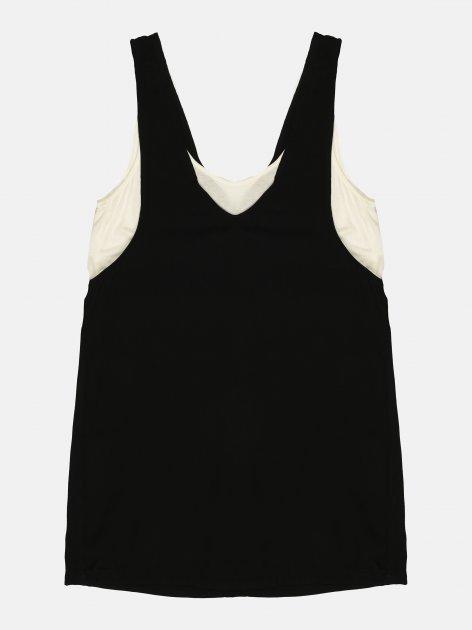 Сарафан Pull & Bear 9396/302/800 L Черно-белый (09396302800044) - изображение 1