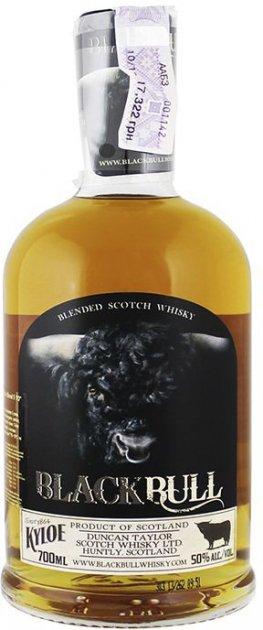 Виски Black Bull Kyloe 0.7 л 50% (5060294564188) - изображение 1