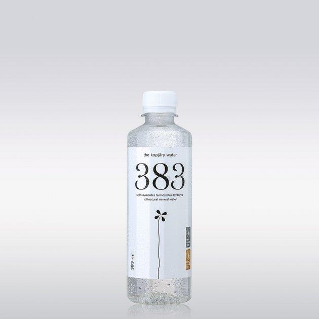 Упаковка минеральной негазированной воды 383 0,383л *12 бутылок 5999887276019 - изображение 1