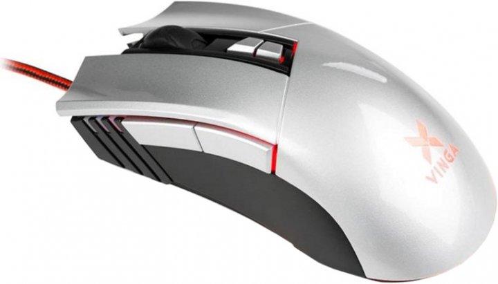 Мышь Vinga MSG-90 USB Grey - изображение 1