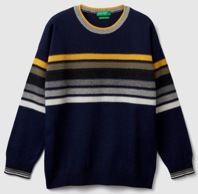 Джемпер United Colors of Benetton 1041Q1934.G-72 150 см XL (8032652407939) - изображение 1