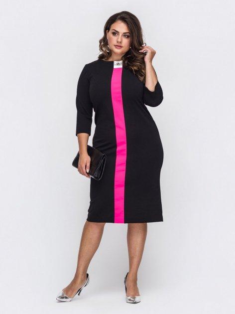 Платье Dressa 50702 54 Черное (2000405633672_D) - изображение 1