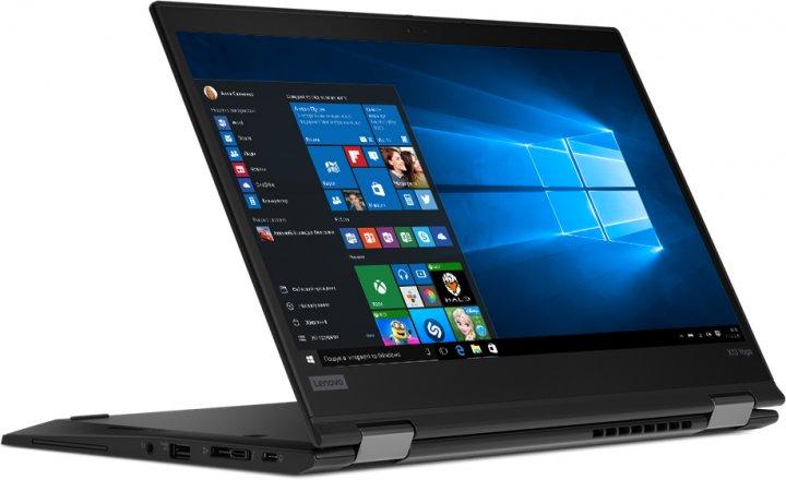 Ноутбук Lenovo ThinkPad X13 Yoga Gen 1 (20SX0003RT) Black - зображення 1