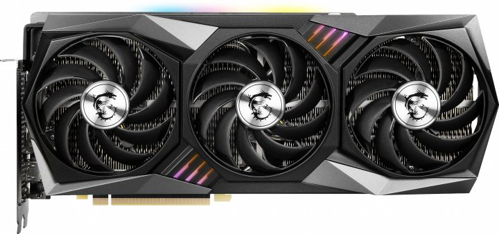 MSI PCI-Ex GeForce RTX 3080 Gaming X Trio 10GB GDDR6X (320bit) (1815/19000) (HDMI, 3 x DisplayPort) (RTX 3080 GAMING X TRIO 10G) - зображення 1