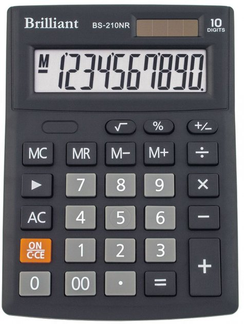 Калькулятор Brilliant (BS-210NR)