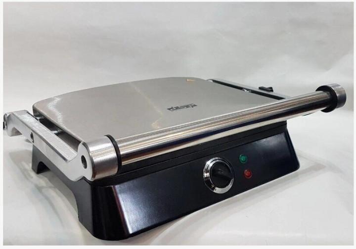 Гриль DSP KB-1001 електричний притискної з таймером 1400 Вт Чорний (11666) - зображення 1