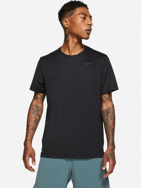 Футболка Nike M Nk Top Ss Hpr Dry CJ4611-010 XL (193655236075) - изображение 1