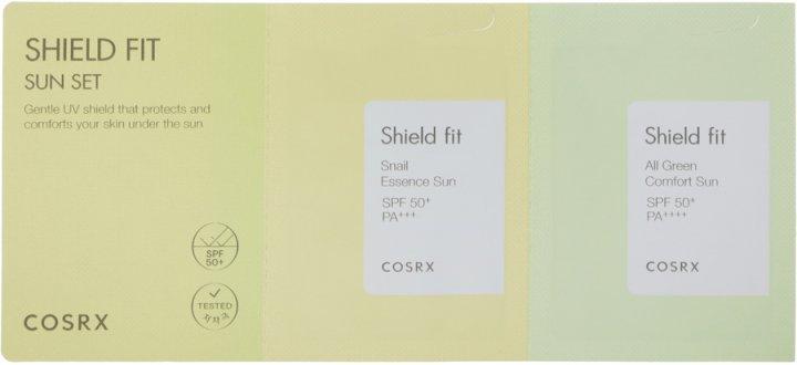 Набор пробников Cosrx Shield Fit Sun Set 1ea Солнцезащитные средства (8809598451292) - изображение 1