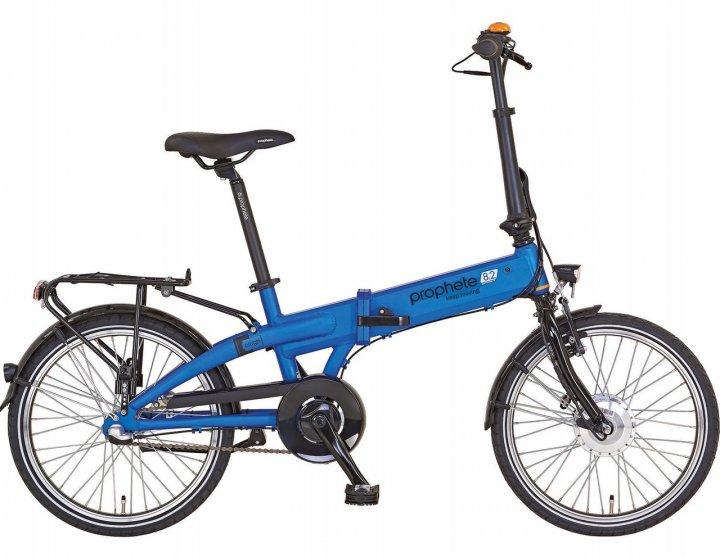 Електровелосипед складний Prophete 20 Nexus 3 Blue Німеччина - зображення 1