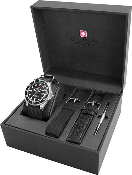 Чоловічі наручні годинники Swiss Military-Hanowa 06-8279.04.007.07 SET - зображення 1