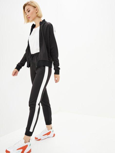 Спортивный костюм Lilove 057-2 2XL(50-52) Черный (ROZ6400022513) - изображение 1