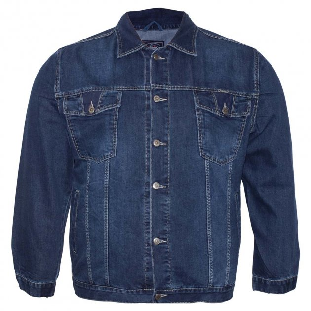 Джинсовая куртка DEKONS ku00411662 (60) синий - изображение 1