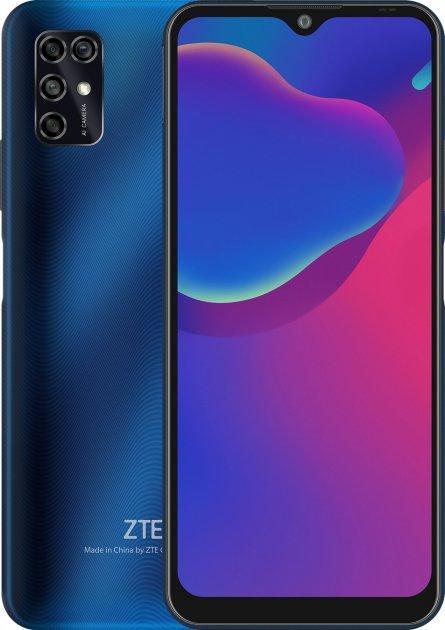 Мобильный телефон ZTE Blade V2020 Smart 4/64GB Blue - изображение 1