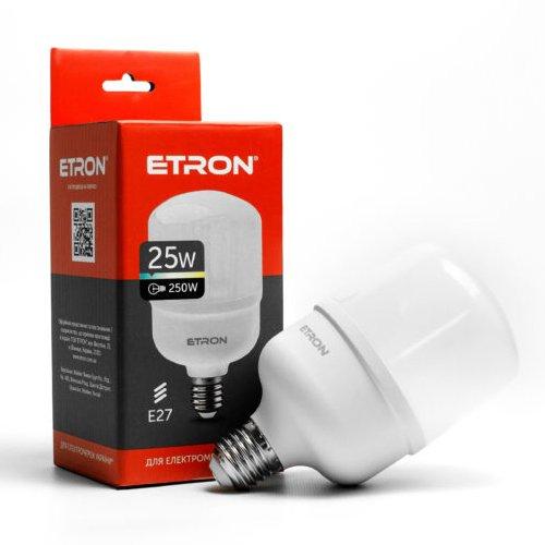 LED лампа ETRON 1-EHP-302 T80 25W 6500K E27 - зображення 1