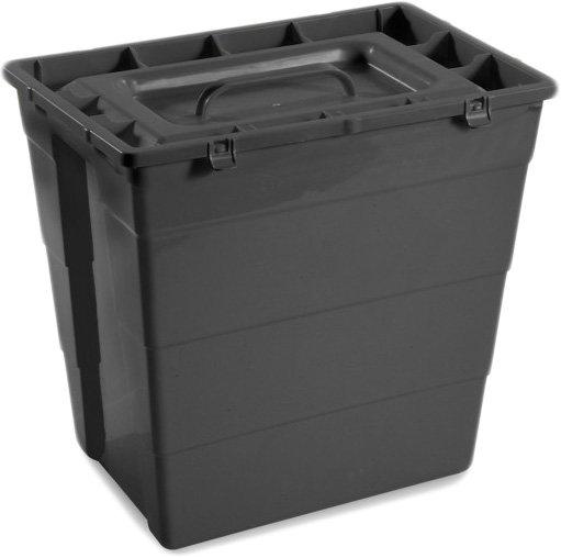 Контейнер для сбора медицинских и биологических отходов AP Medical SC 30 л R Black (2020700 4368 04) - изображение 1