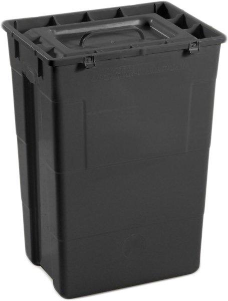 Контейнер для сбора медицинских и биологических отходов AP Medical SC 50 л R Black (2023400 4586 06) - изображение 1