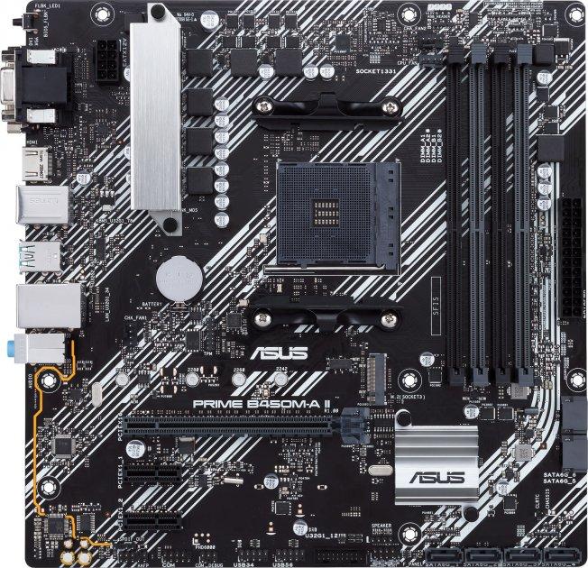 Материнська плата Asus Prime B450M-A II (sAM4, AMD B450, PCI-Ex16) - зображення 1