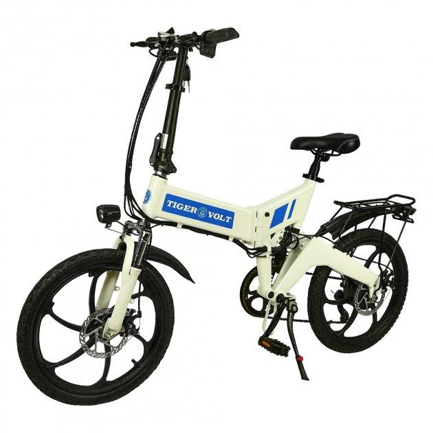 Електровелосипед ZM TigerVolt 20 білий - зображення 1