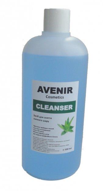 Рідина для зняття липкого шару AVENIR Cosmetics 500 мл. - зображення 1
