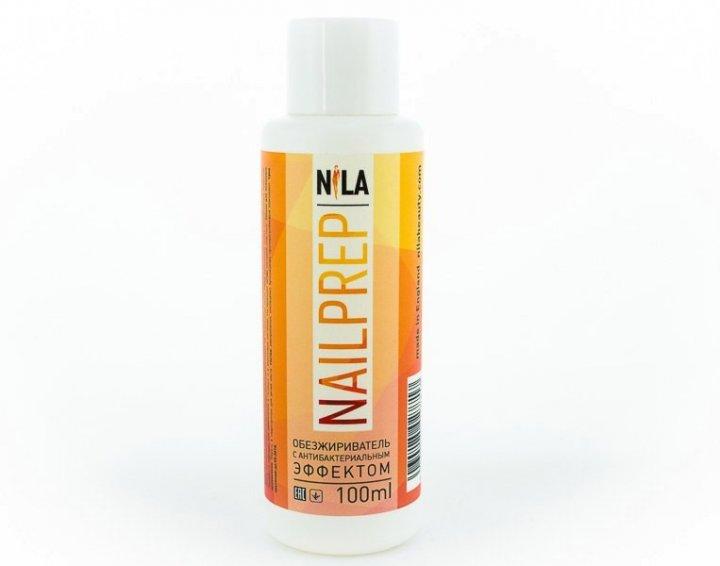 Знежирювачах з антибактеріальним Nila Nail Prep ефектом 100 мл - зображення 1