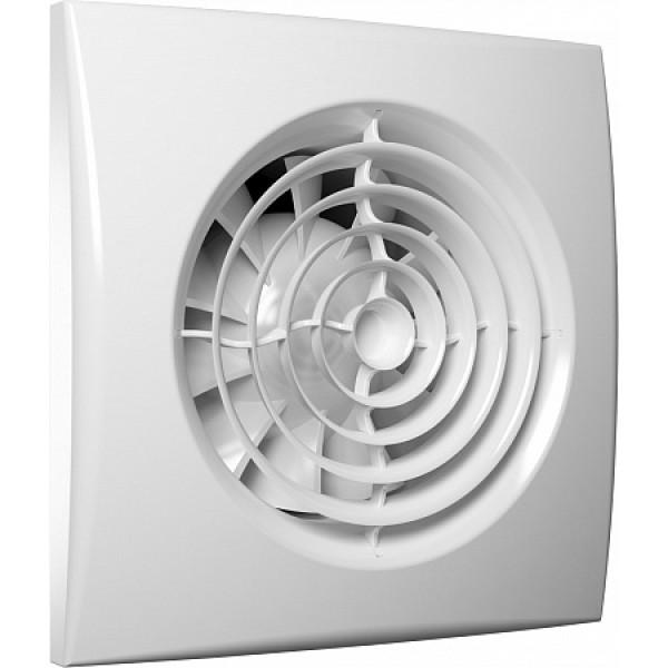 Вентилятор вытяжной DiCiTi AURA 4C MR 8,4 Вт 90 м3 с обратным клапаном и мультирежимным контроллером FusionLogic 1.0 имеющим датчик освещенности и таймер - изображение 1