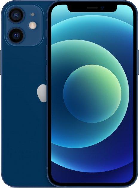 Мобильный телефон Apple iPhone 12 mini 128GB Blue Официальная гарантия - изображение 1