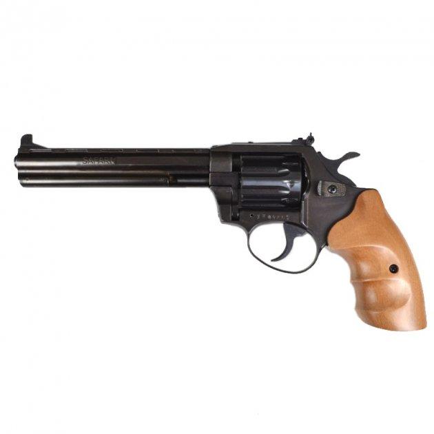 Револьвер под патрон Флобера Safari PRO 461м (6.0'', 4.0mm), ворон-бук - изображение 1
