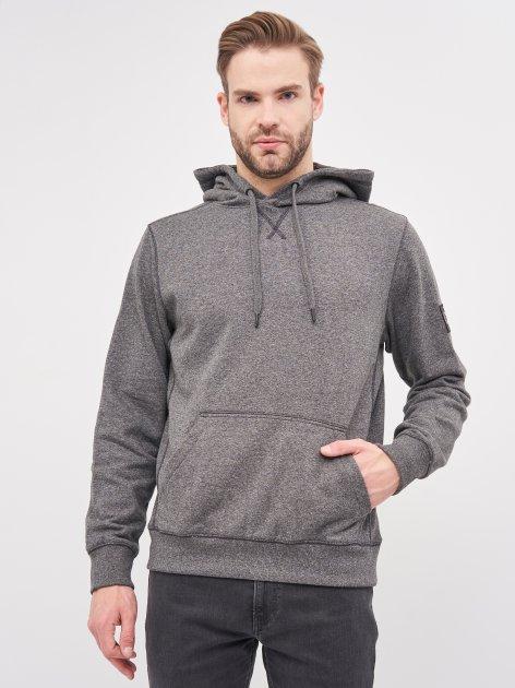 Худи Calvin Klein Jeans Monogram Badge Grindle Hoodie J30J316551-BEH S CK Black (8719853137000) - изображение 1