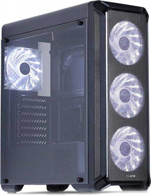Корпус Zalman i3 Black (Zalmani3glass) - изображение 1
