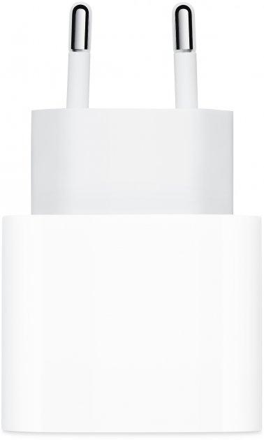 Сетевое зарядное устройство Apple 20W USB-C Power Adapter White (MHJE3ZM/A) - изображение 1