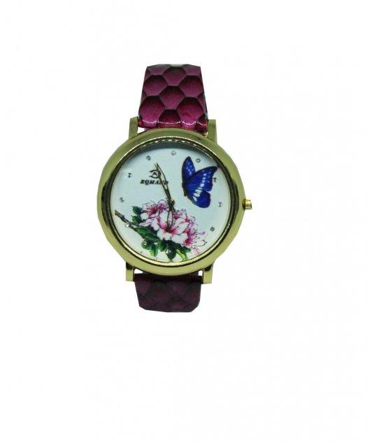 Годинники жіночі Abeer Метелик і квітка (6789LР) - зображення 1