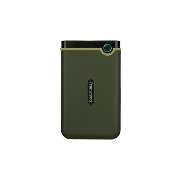 """HDD ext 2.5"""" USB 2.0 TB Transcend StoreJet 25M3 Military Green Slim (TS2TSJ25M3G) - зображення 1"""