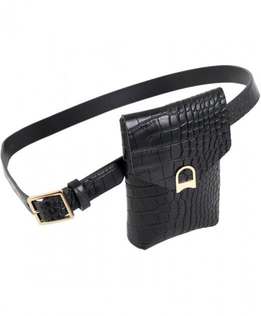 Пояс с карманом Traum 8822-18 Черный (4820008822185) - изображение 1